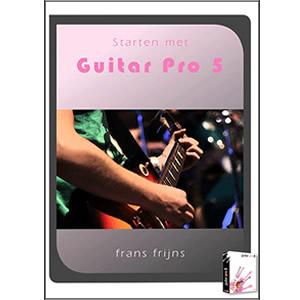 Starten met Guitar Pro 5